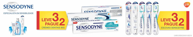 Topo Higiene e Cuidados Sensodyne Escova