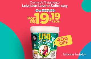 Promoção Lola liso