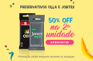 Promoção Olla e Jontex