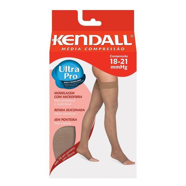 2a796a7d2 Meia Kendall média compressão 7 8 sem ponteira silky mel 1712
