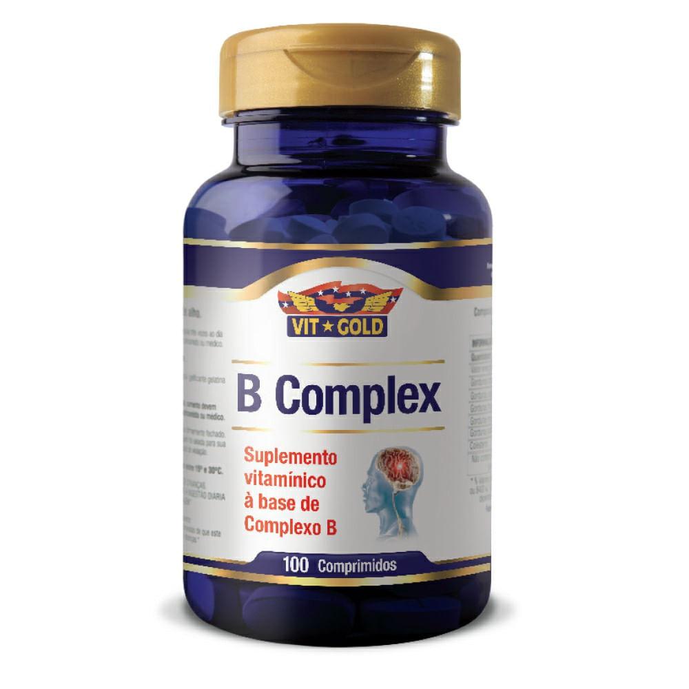 c8cc450f6 Complexo B Vit Gold 100 comprimidos - drogariavenancio