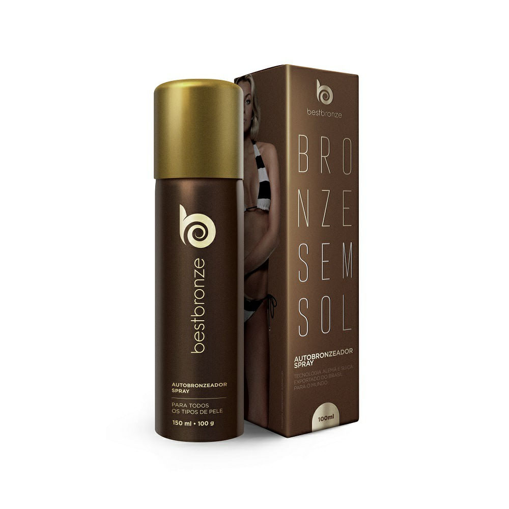 93788fa428 Autobronzeador Best Bronze Spray 150ml - drogariavenancio