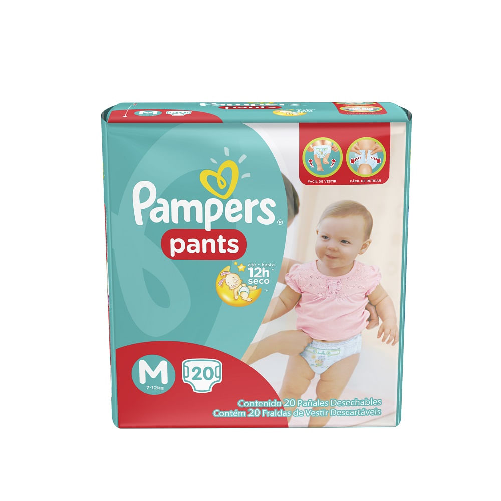 0c7bf3c1a Fralda Pampers Pants M 20Un - drogariavenancio