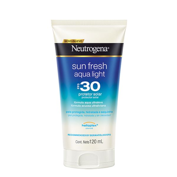 376e1aae0 Protetor Solar Neutrogena Sun Fresh Aqua Light FPS-30 120ml