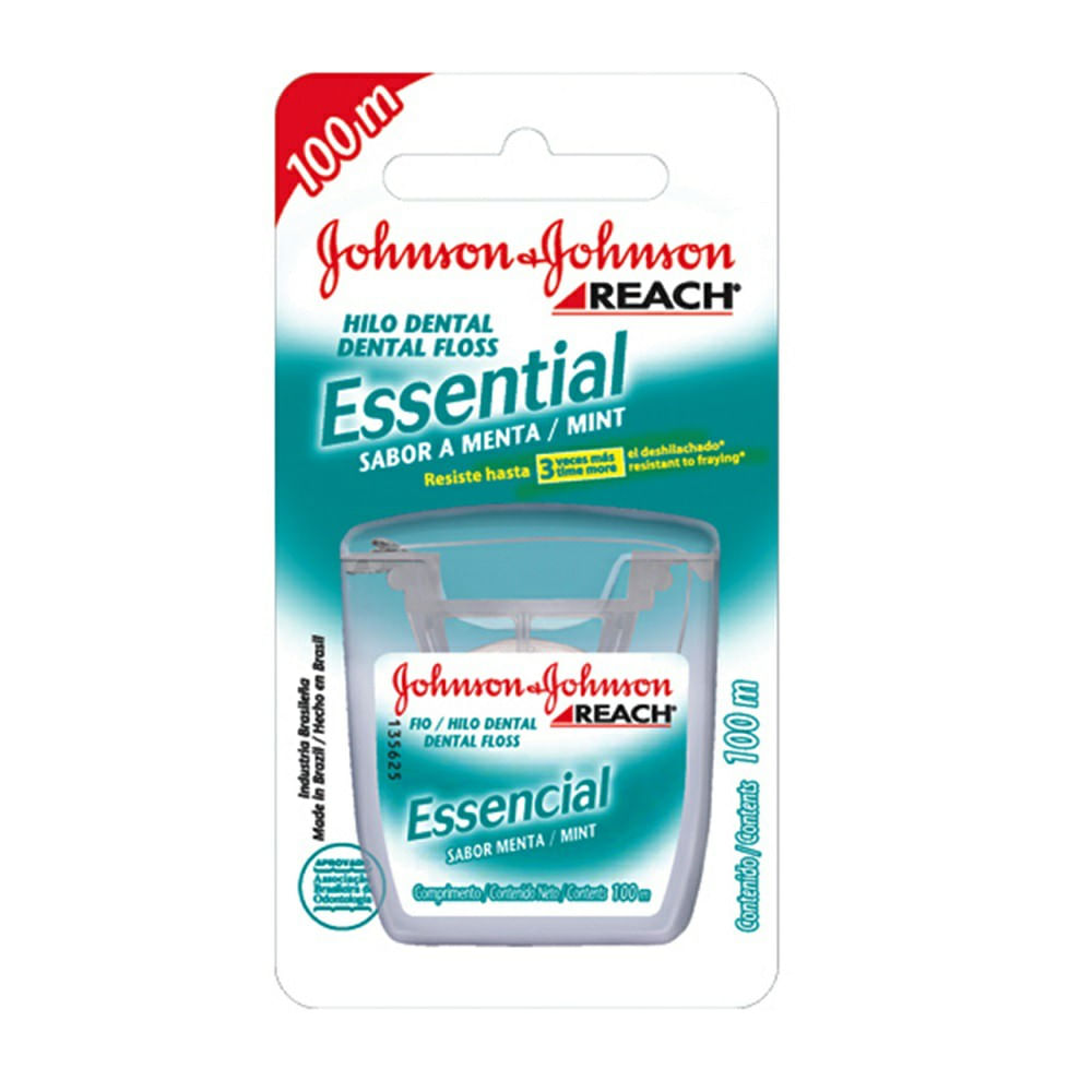 78defea5b Fio dental Johnson   Johnson Essencial Menta 100m - drogariavenancio