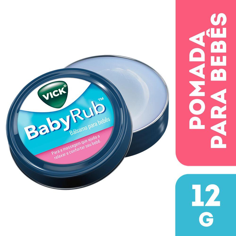 se le puede poner vaporub a un bebe de 1 mes