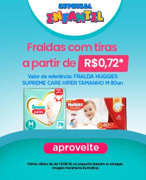 banner topo destaque Especial Infantil Fralda