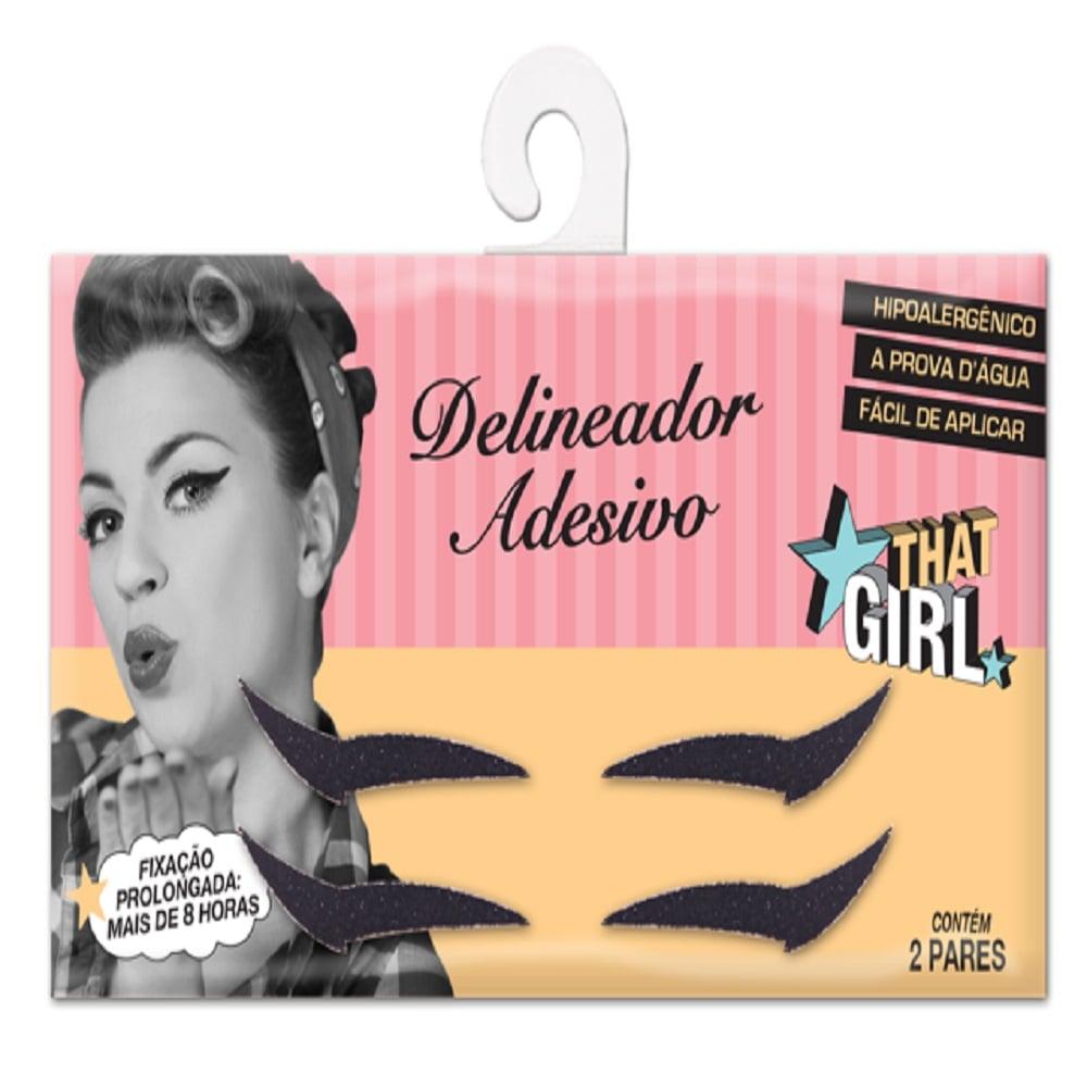 Delineador Adesivo That Girl 20 Pares